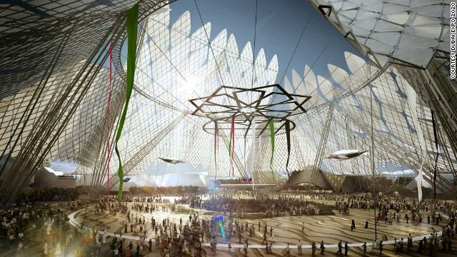 Welcoming the world: How the main Expo site will look in 2020.