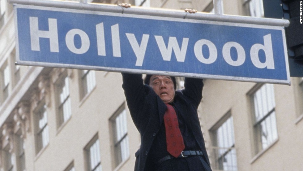"""Arguably the true heir to Keaton and Lloyd, the name<strong> Jackie Chan</strong> brings to mind high-speed action set pieces, but everything he produces is injected with wild comedy. Like his forebears, Jackie Chan is as much an acrobat as an actor and performs many of his own high-risk stunts. Paired with lanky comedian Chris Tucker, """"<strong>Rush Hour""""</strong> (1998) spawned two sequels. The climactic scene, in which Chan's terrified Inspector Lee <a href=""""http://www.youtube.com/watch?v=jPULDr0cn6A&noredirect=1"""" target=""""_blank""""><strong>runs through rafters of the roof, carrying an explosive vest while fighting off bad guys</a></strong>, shows off Chan's comedic skills and athleticism all at once."""
