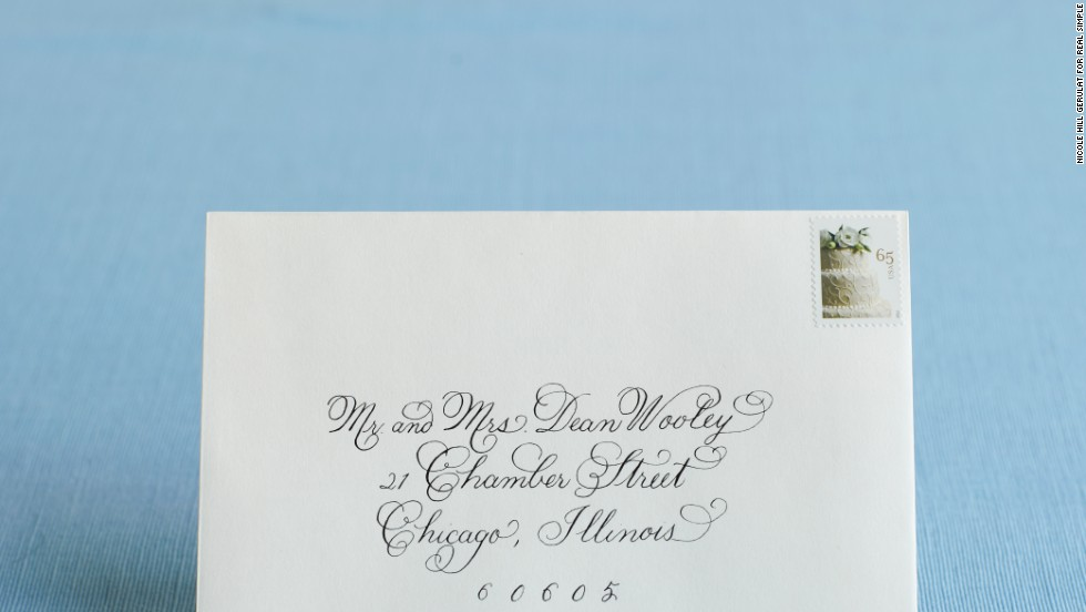 How to address wedding invitations - CNN.com