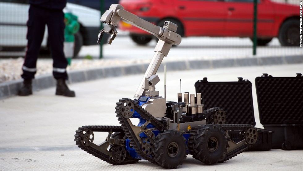 In October 2013, Telerob, developed by aerospace firm Cobham, received two gold medals in EURATHLON, a new robot competition seeking the smartest emergency response robots in the world. Telerob is principally a robotic bomb disposal system but it can handle all sorts of hazardous materials, including in a smoke-filled environment.