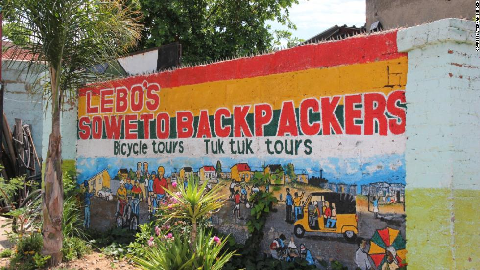 Set on a hill with views over affluent Orlando West, Lebo's Backpackers Hostel has the feel of a laid-back beach hotel.