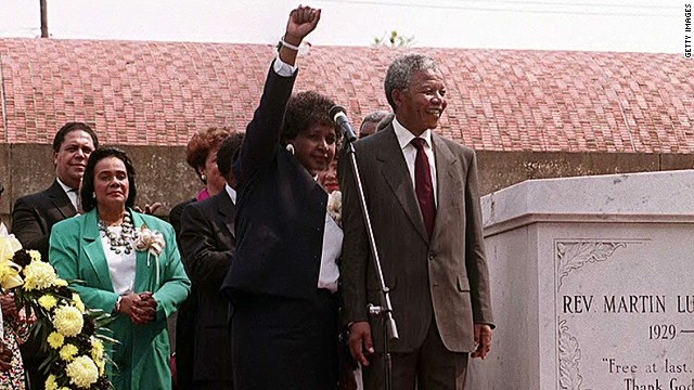 Bernice King: Mandela was a gentle giant