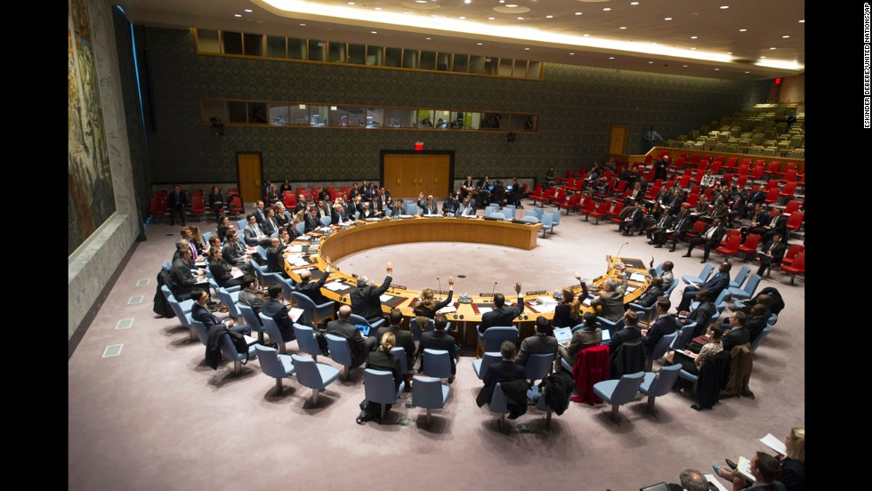 The U.N. Security Council votes Thursday, December 5 to authorize increased military action in the Central African Republic. The resolution, put forward by France, authorized an African Union-led peacekeeping force to intervene with the support of French troops.