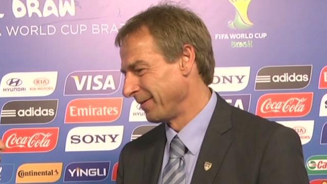 Klinsmann on U.S. World Cup draw