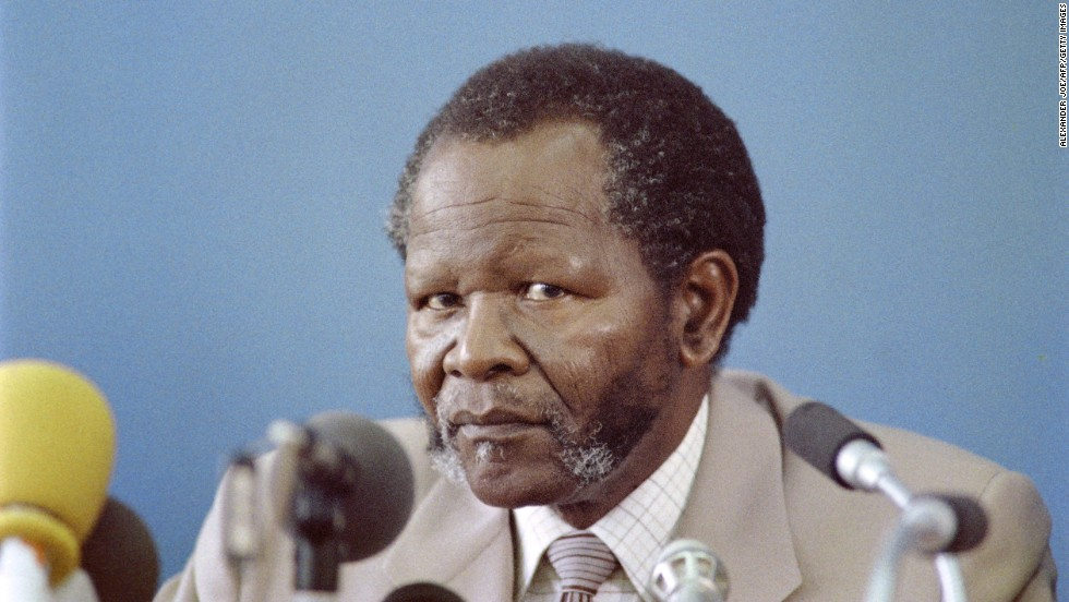 Oliver Tambo, an exiled politician and activist against apartheid, became President of the African National Congress (ANC) in 1958. Later, Tambo was sent abroad by the ANC to mobilise opposition to apartheid. He returned to South Africa in 1991 after having spent over 30 years in exile and was elected National Chairperson of the ANC in July 1991. Mandela thanked Tambo in his speech when he was released from prison.