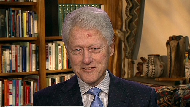 Clinton: 'We had a genuine friendship'