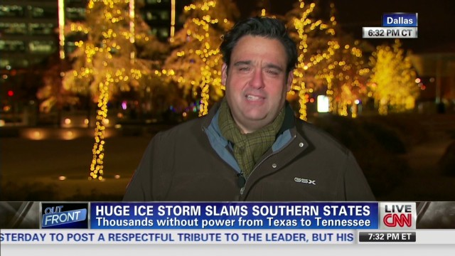 Winter storm shuts down Dallas