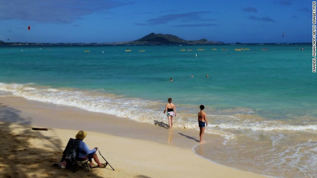 Kailua boasts beachfront properties overlooking pristine white sand beaches.