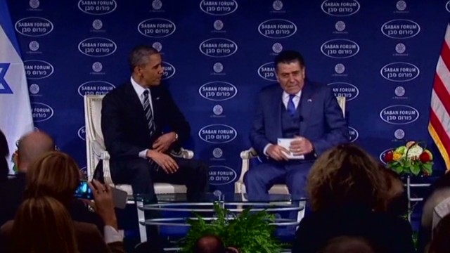 Obama talks foreign relations at forum