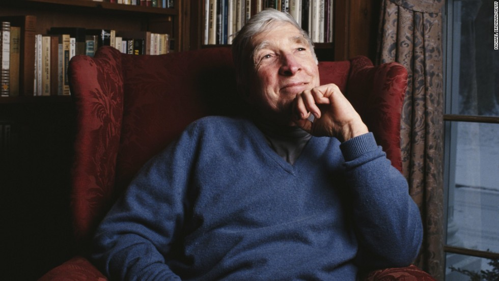 "Celebrated American novelist <a href=""http://www.newyorker.com/archive/1985/09/02/1985_09_02_039_TNY_CARDS_000341187"" target=""_blank"">John Updike</a> wrote about his battle with psoriasis in a piece for ""The New Yorker"" titled ""At War With My Skin."""
