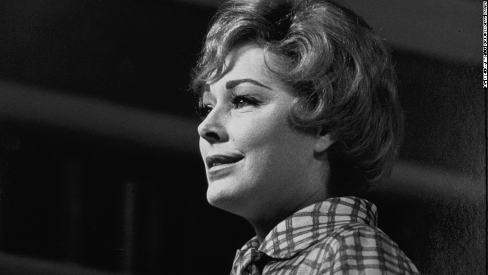 "Actress <a href=""http://www.cnn.com/2013/12/09/showbiz/eleanor-parker-obit/index.html"">Eleanor Parker</a>, nominated for three Oscars and known for her ""Sound of Music"" role, died on December 9, her family said. She was 91."