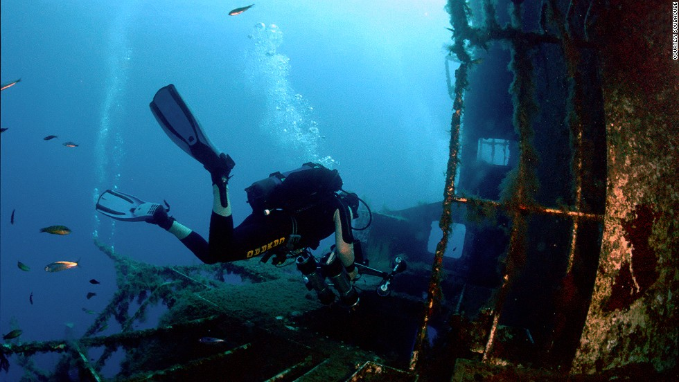 "The <em>Zenobia</em> wreck off the Larnaca coast is often listed as one of the world's <a href=""http://www.scubatravel.co.uk/best-wreck-dives.html"" target=""_blank"">top 10 wreck dives</a>. Decaying carpets and vending machines remain on the deck of the sunken 1980s vessel."