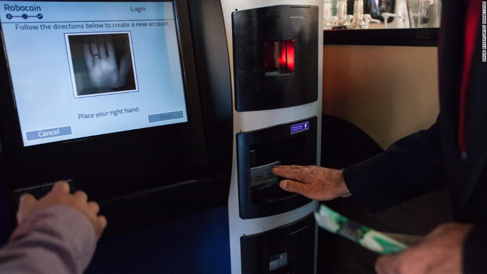 The first Bitcoin ATM made its debut at Waves Coffee House in Vancouver this October. The ATM instantly converts traditional cash to the virtual currency, but limits users to a $1000 daily limit.