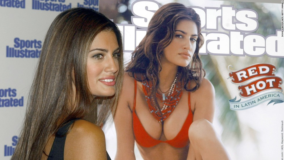Argentina's 2002 and 2006 cover star Yamila Diaz-Rahi was first discovered as a model while holidaying in Uruguay.