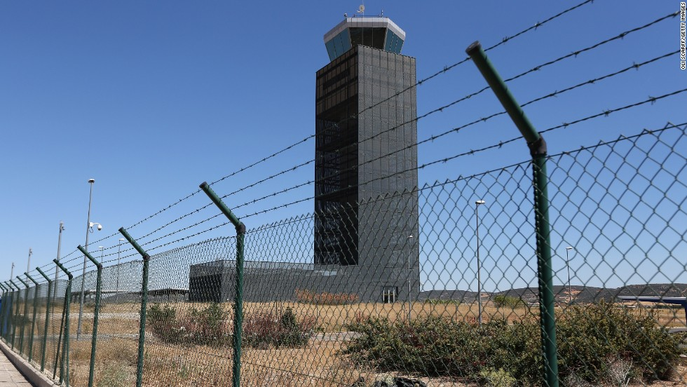 "Nobody will be ""pushing tin"" at Ciudad Real's control tower any time soon."