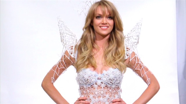 cnnee segall us victoria's secret 3d printed wings_00002212.jpg