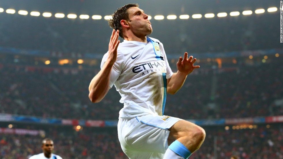 James Milner scored a dramatic winner as Manchester City came from behind to defeat reigning champion Bayern Munich 3-2 in its final group game. Next up for City is Barcelona.