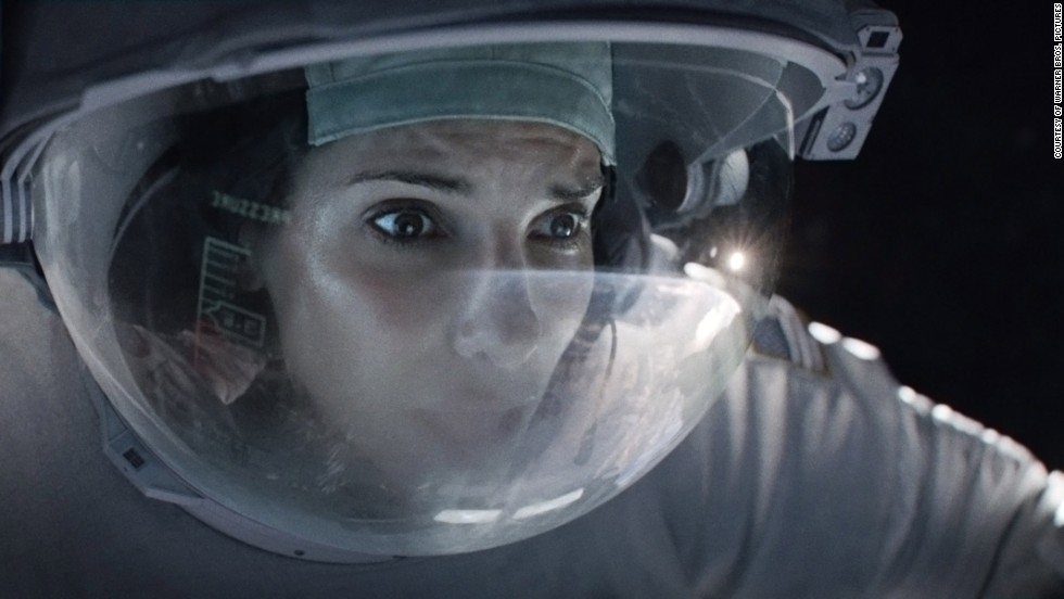 "<strong>Outstanding female actor in a leading role: Sandra Bullock </strong>""Gravity"" (pictured); <strong>Cate Blanchett </strong>""Blue Jasmine;"" <strong>Judi Dench </strong>""Philomena;"" <strong>Meryl Streep </strong>""August: Osage County;"" <strong>Emma Thompson </strong>""Saving Mr. Banks."""