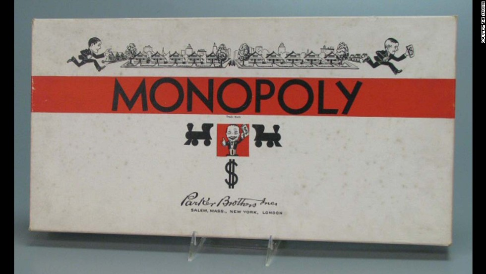 Monopoly was first issued by Parker Brothers in 1935, though there is some controversy about who invented the game. Some say it was Charles Darrow during the Depression, others say it was originally Elizabeth Phillips who called it The Landlord's Game, patented in 1904. Like many games and toys, the look has changed over the years.