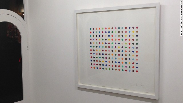 Damien Hirst artworks stolen in London gallery heist