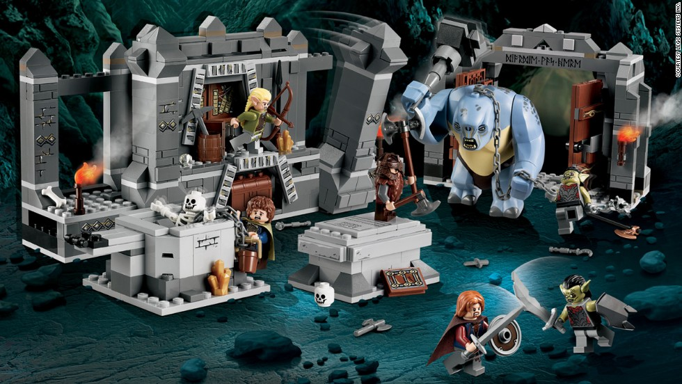 "The Mines of Moria™ Lego Lord of the Rings by Lego in 2012. The company has exploded from its wooden days. The Lego company now not only sells the popular building toy, but also has a theme park, Legoland, movies and even video games. ""The Lego Movie,"" from 2014, was one of the biggest box-office hits of the year."