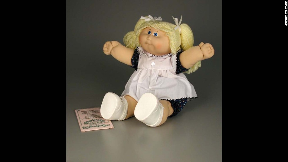 Cabbage Patch Doll by Coleco Industries (now Jakks Pacific) in 1983. Created by a 21-year-old art student named Xavier Roberts, Cabbage Patch Kids began as handcrafted cloth dolls available in gift shops in the South. During the 1983 Christmas season, parents swarmed toy stores for these dolls and by New Year's Day, more than 3 million had been sold.