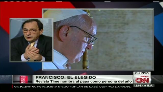 cnnee conclu debate time magazine pope_00044818.jpg
