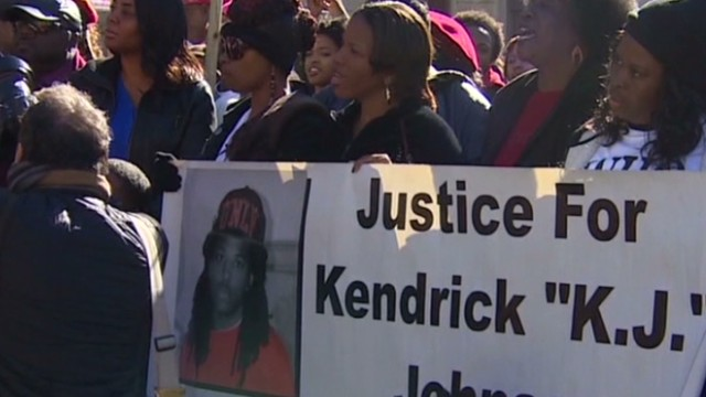 Protesters want  answers in teen's death