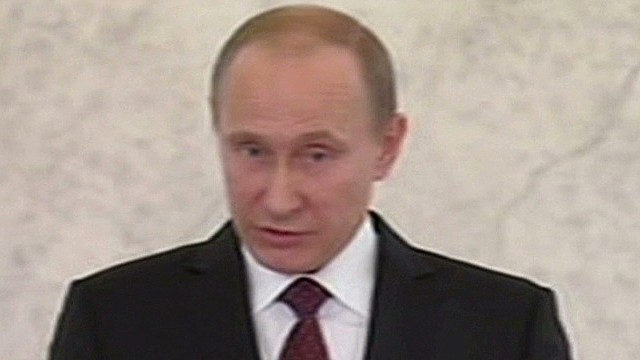 Putin reacts to Ukraine unrest