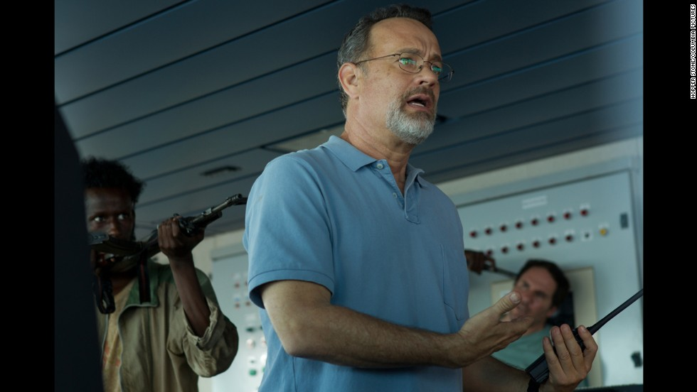 "Nominated for best actor in a motion picture -- drama were Tom Hanks in ""Captain Phillips"" (pictured), Chiwetel Ejiofor in ""12 Years a Slave,"" Idris Elba in ""Mandela: Long Walk to Freedom,"" Matthew McConaughey in ""Dallas Buyers Club"" and Robert Redford in ""All is Lost."""