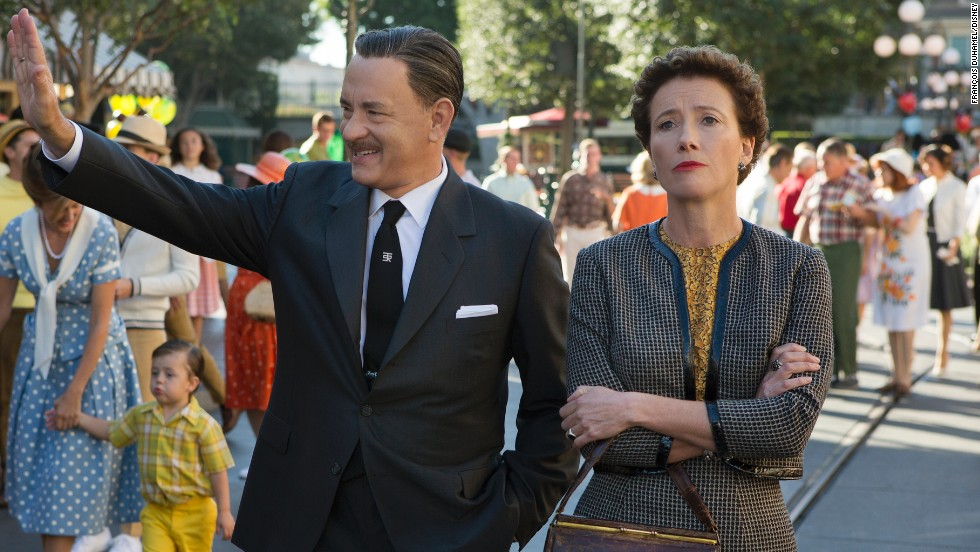 "Nominated for best actress in a motion picture -- drama, were Emma Thompson in ""Saving Mr. Banks"" (pictured), Cate Blanchett in ""Blue Jasmine,"" Sandra Bullock in ""Gravity,"" Judi Dench in ""Philomena"" and Kate Winslet in ""Labor Day."""