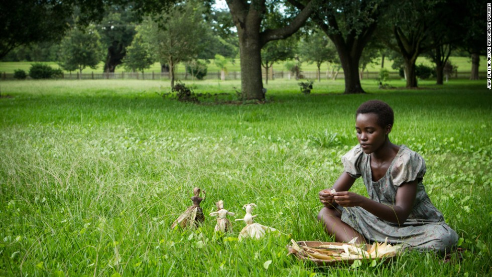 "Nominated for best supporting actress in a motion picture were Lupita Nyong'o in ""12 Years a Slave"" (pictured), Sally Hawkins in ""Blue Jasmine,"" Jennifer Lawrence in ""American Hustle,"" Julia Roberts in ""August: Osage County"" and June Squibb in ""Nebraska."""