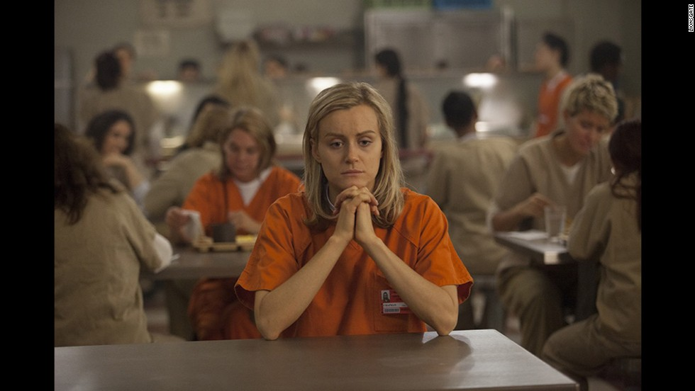 "For <strong>Outstanding Lead Actress in a Comedy Series</strong>, Emmys newcomer <strong>Taylor Schilling</strong> earned a nomination for her role in Netflix's standout series ""Orange is the New Black."" She goes up against <strong>Lena Dunham </strong>(""Girls""), <strong>Edie Falco</strong> (""Nurse Jackie""), <strong>Julia Louis-Dreyfus</strong> (""Veep""), <strong>Melissa McCarthy</strong> (""Mike & Molly"") and the oft-nominated but yet-to-win <strong>Amy Poehler </strong>(""Parks and Recreation"")."