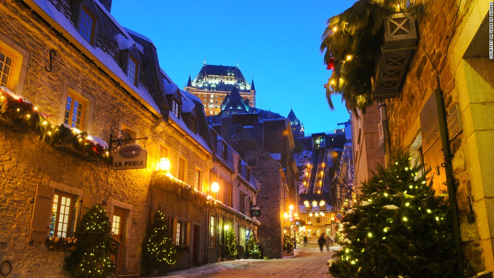 Modern-day Victorians visiting Quebec City can enjoy a candlelit evening of stories from Charles Dickens, detailing Christmas traditions of yore. They're not all depressing.
