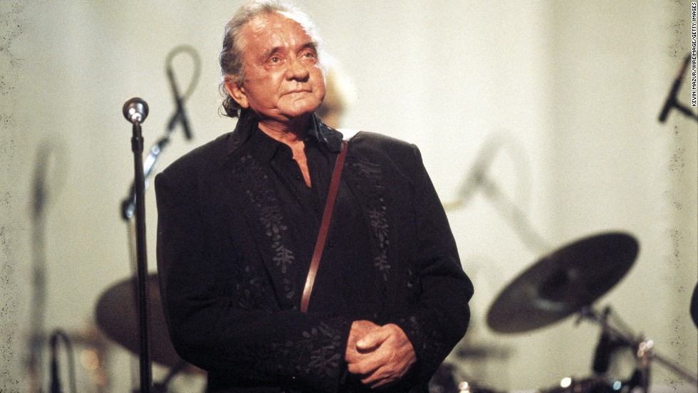 Cash appears at the All-Star Tribute to Johnny Cash in New York City on April 6, 1999.