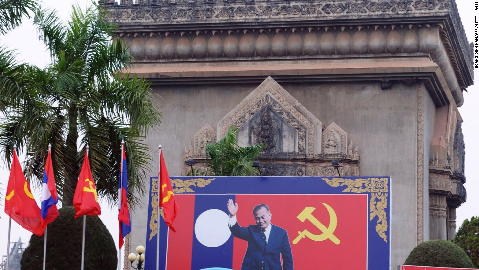 Cuba's out, Fidel having lifted a Christmas ban in 1998. Which leaves Laos: anti-consumerist by state decree and Buddhist, too. Watch out, reindeers!