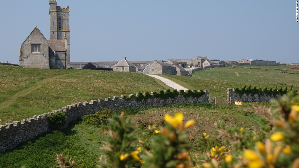 Even within the Christmas-intensive world, you can find Internet and TV-free places such as the UK's Lundy Island.