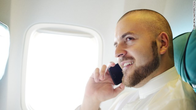 Most people don't want to hear cell phone calls in an airplane cruising at 30,000 feet, according to a new survey.