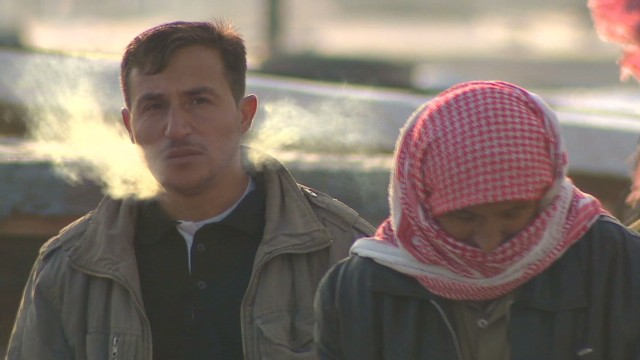 Refugees threatened by winter weather
