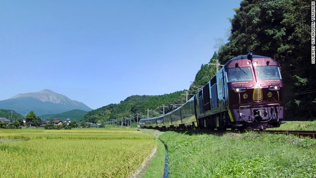First bullet trains, now luxury.