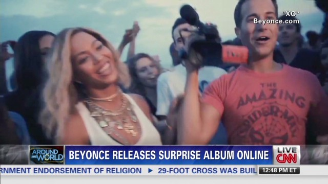 Beyonce releases surprise album online