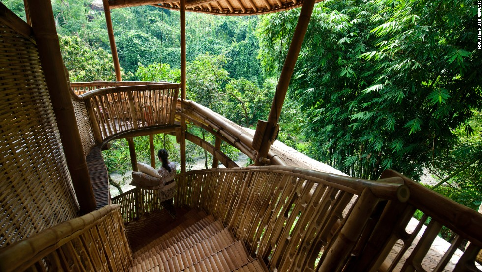 Bali 39 s jungle style sets new heights for barefoot luxury cnn Bali house designs floor plans