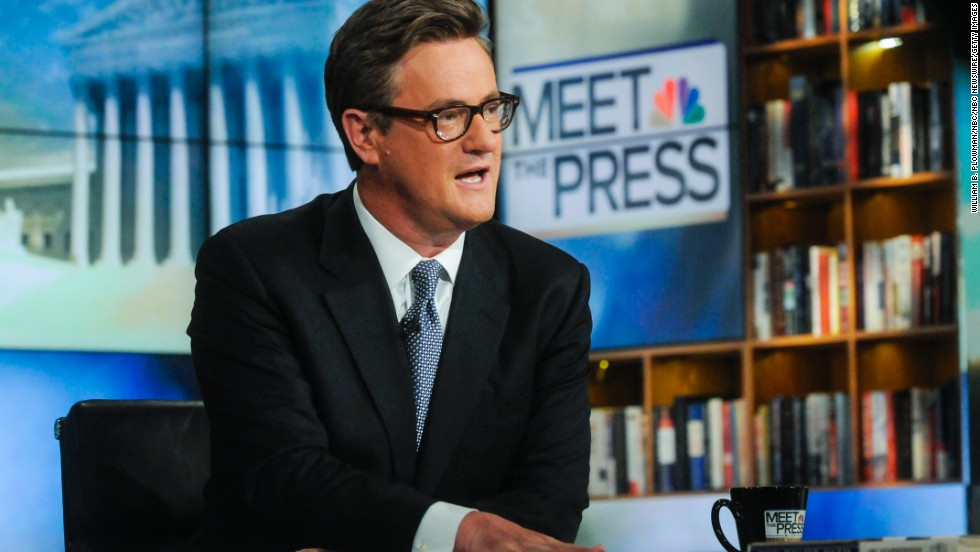 "Joe Scarborough, host of MSNBC's ""Morning Joe,"" turned 50 on April 9."