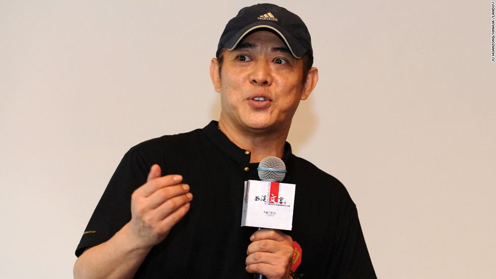Actor and martial artist Jet Li turned 50 on April 26.