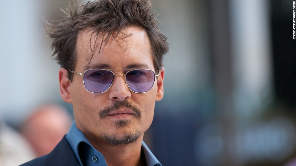 "Actor Johnny Depp, who like Pitt was named ""Sexiest Man Alive"" twice by People magazine, turned 50 on June 9."