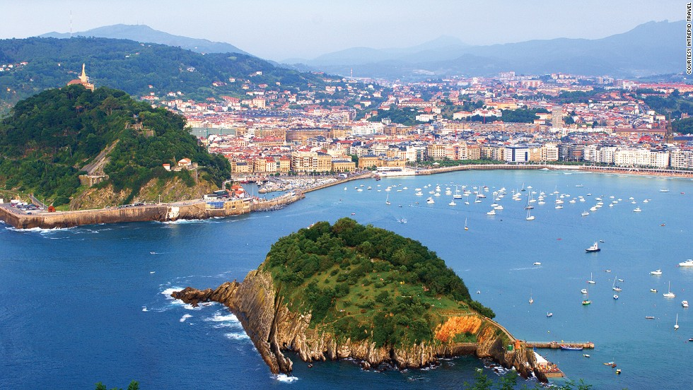 "This Spanish city says it has more <a href=""http://travel.cnn.com/san-sebastians-amazing-street-michelin-experience-736551"">Michelin stars (a total of 16) per square meter than any other place in the world</a>. It's also gearing up for its 2016 stint as European Capital of Culture. Get there before everyone else does urges Daniel Fesenmaier from Temple University's School of Tourism and Hospitality. Management."