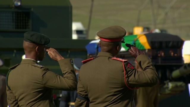 Nelson Mandela's final farewell
