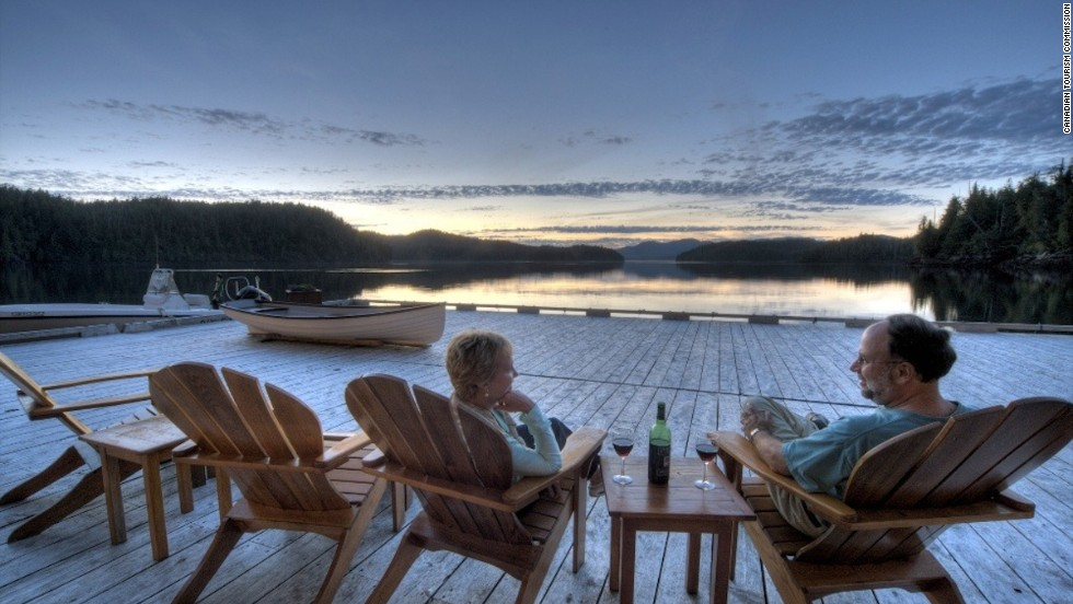 Canada has more lakes than any other country -- about 3 million. Ontario alone contains about a third of the world's freshwater. Recently, National Geographic Traveler called the lake district of Muskoka the top summer destination -- in the world.