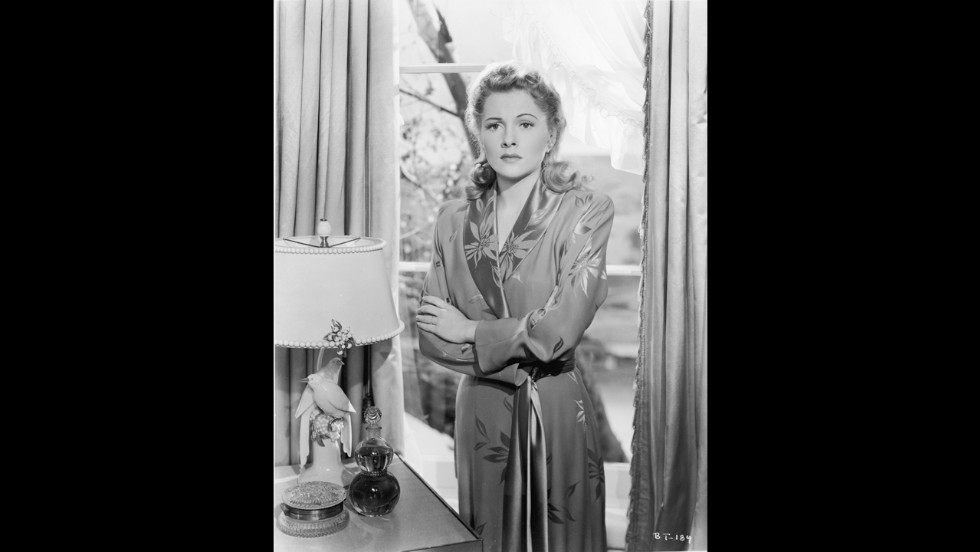 "Fontaine won the Best Actress Oscar for her role in another Hitchcock film, ""Suspicion,"" in 1941."