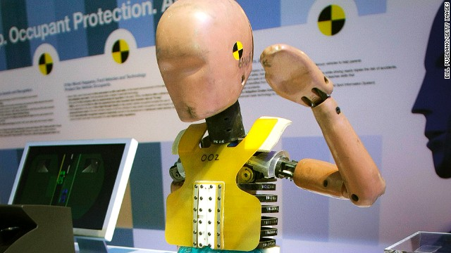 The first crash test dummy was created in 1949 to test ejection seats on aircraft.